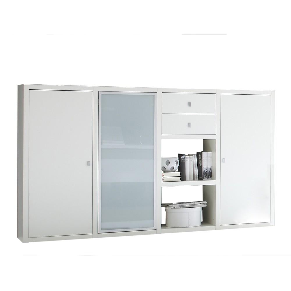Büro-Sideboard Professional - Weiß lackiert