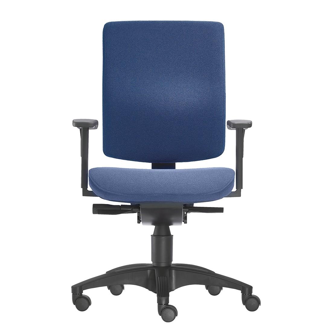 Bürodrehstuhl Cube S – Höhenverstellbare Armlehnen – Dunkelblau, 1000 Stühle Gernot-M. Steifensand jetzt bestellen