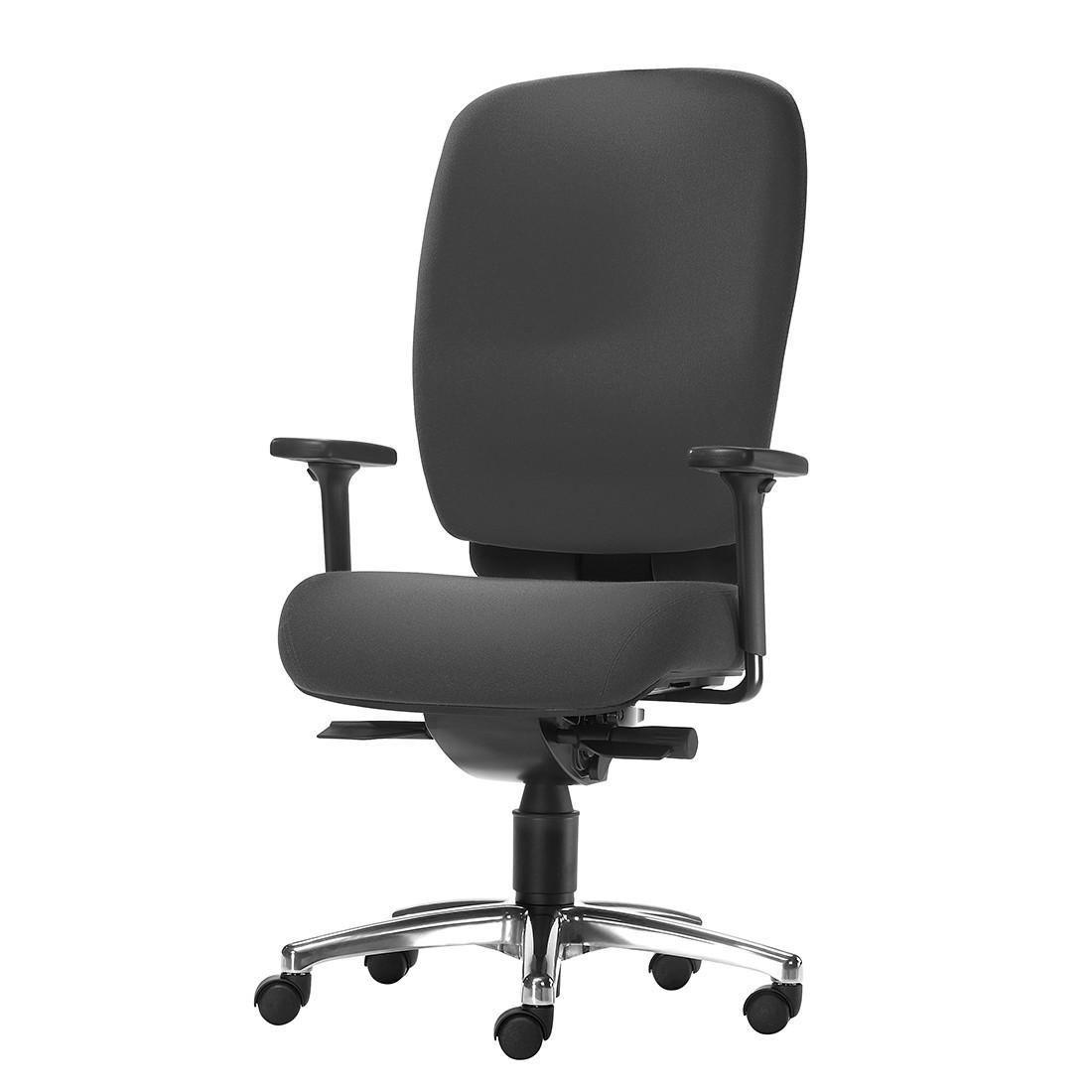 Bürodrehstuhl Office SY 1500 M – Höhenverstellbare Armlehnen – Schwarz, 1000 Stühle Gernot-M. Steifensand günstig