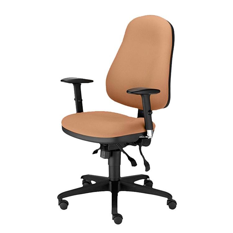 Bürodrehstuhl Offix – Webstoff – hell- Braun, Nowy Styl online kaufen