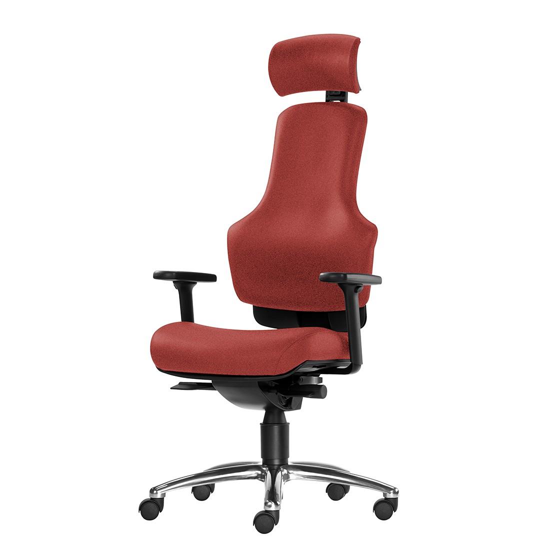 Bürodrehstuhl Ortholetic Balance I – Mit Kopfstütze – Bordeaux, 1000 Stühle Gernot-M. Steifensand günstig