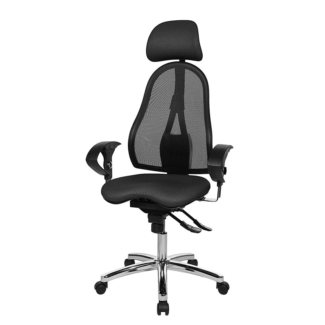 Bürodrehstuhl Sitness 45 – Schwarz / Anthrazit, Topstar online bestellen