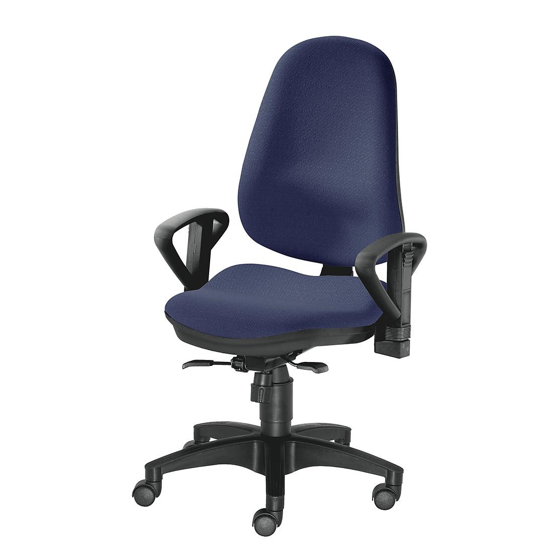 Bürodrehstuhl Ultra 1000 – Höhenverstellbare Armlehnen – Dunkelblau, 1000 Stühle Gernot-M. Steifensand günstig kaufen