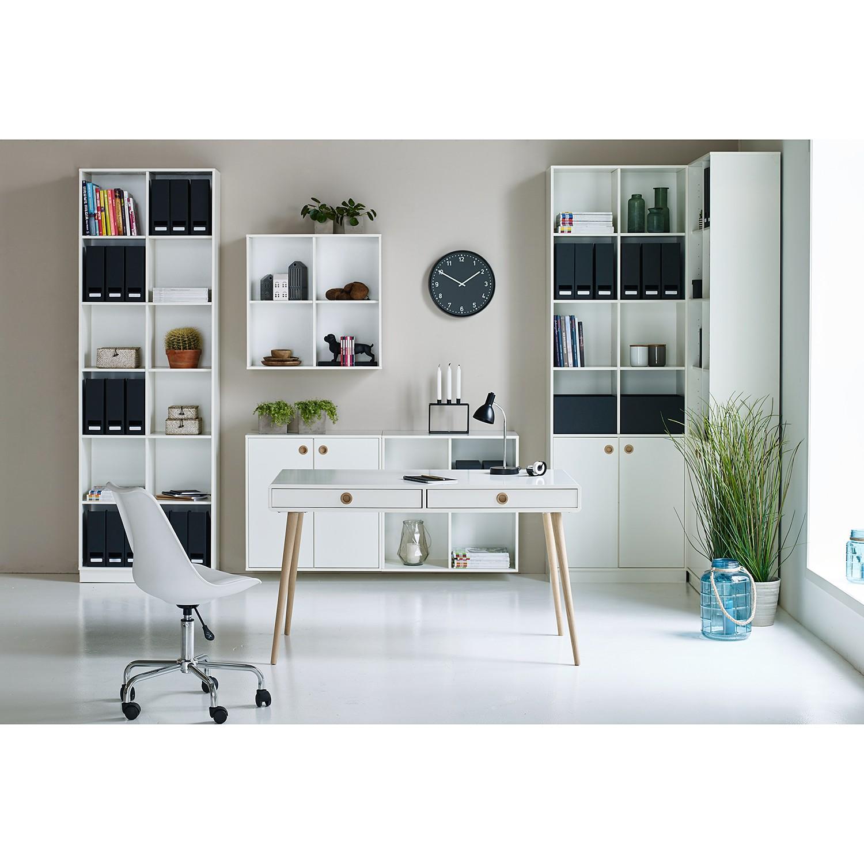 Büroset BOXY (7-teilig) - Eiche / Weiß, Steens