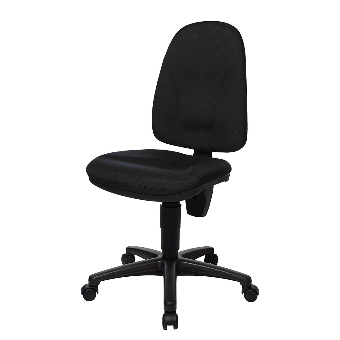Bürostuhl Point 20 – Textilbezug – Schwarz, Topstar günstig bestellen