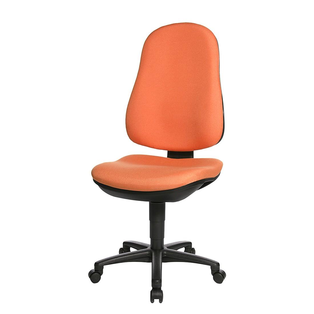 Bürostuhl Support P – Orange/Schwarz, Topstar günstig