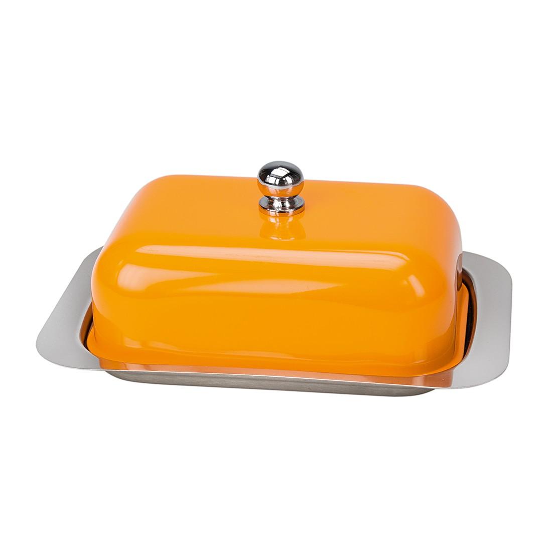 Butterdose Betty – Edelstahl Orange, Contento günstig bestellen