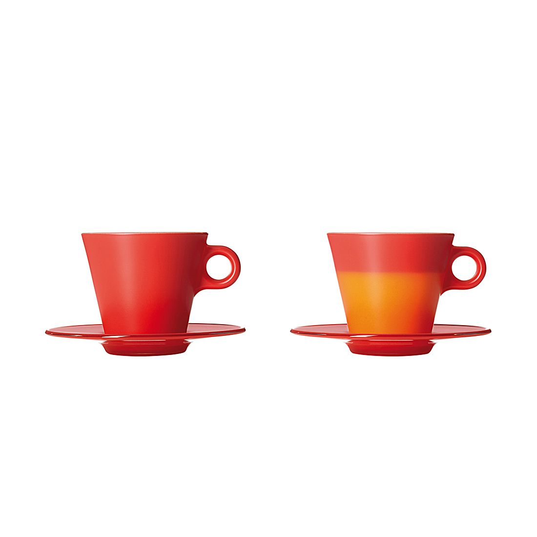 Cappuccinotassen Ooh Magico (2er-Set) – Rot, Leonardo jetzt bestellen