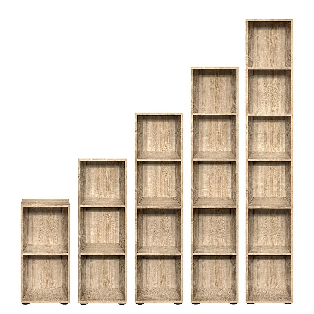 Regal Carry – Eiche Dekor – 4 Ordnerhöhen, Höhe: 144cm, Arte M jetzt bestellen