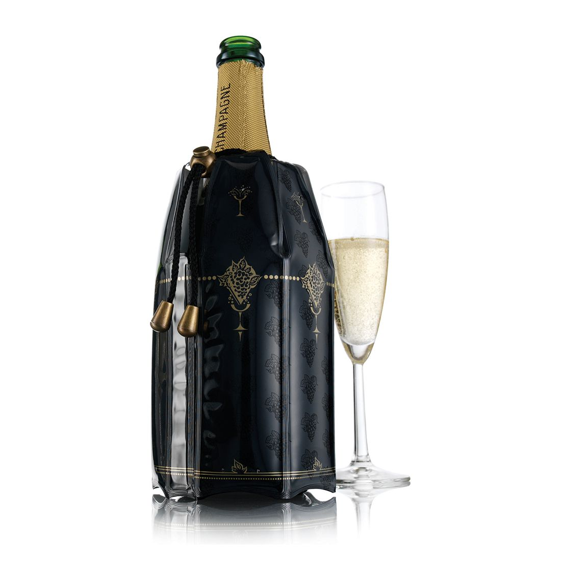Champagner Kühler Modern Art (2er-Set), Vacu Vin günstig online kaufen