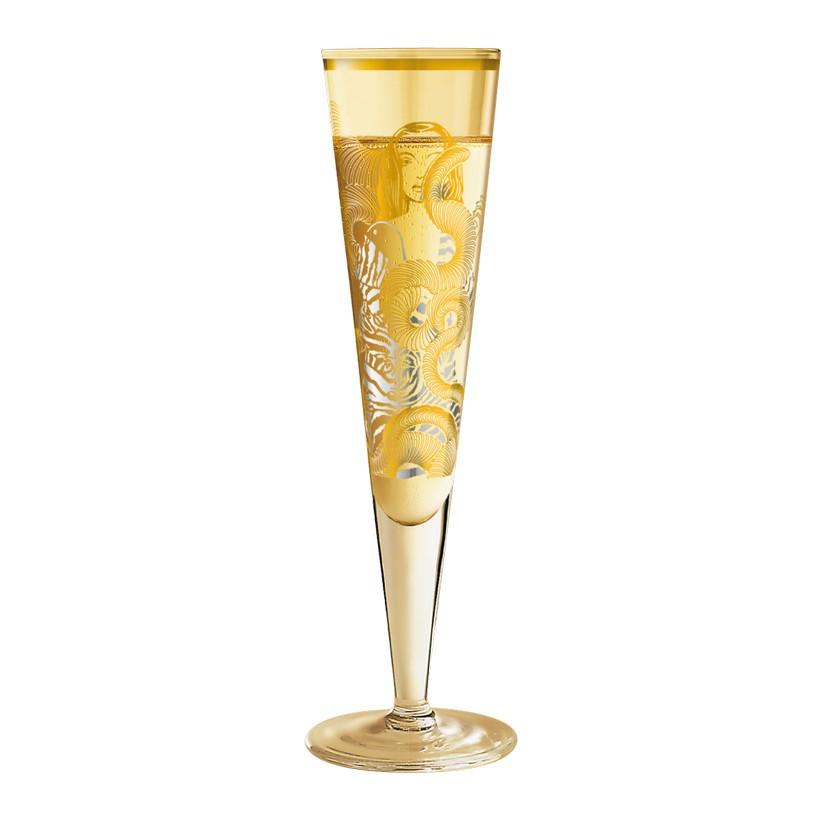 Champagnerglas mit Serviette Champus – 200 ml – Design Burkhard Neie – 2012 – 1075001, Ritzenhoff günstig bestellen