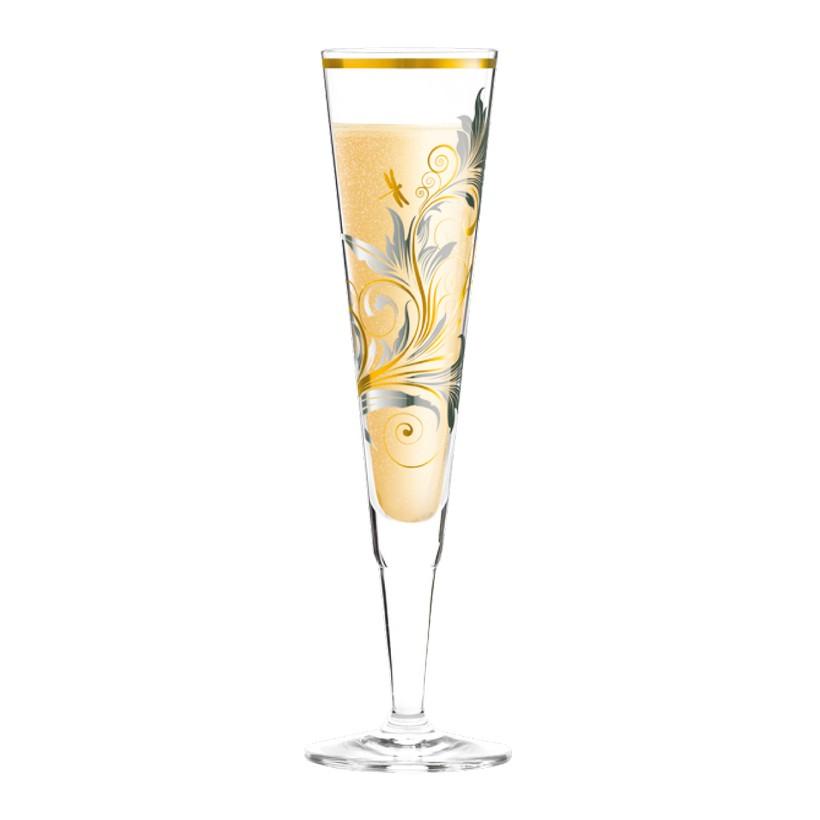 Champagnerglas mit Serviette Champus – 200 ml – Design Burkhard Neie – 2013 – 1070203, Ritzenhoff günstig online kaufen