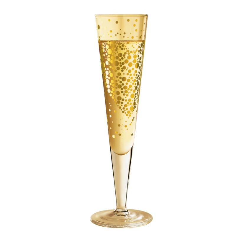 Champagnerglas mit Serviette Champus – 200 ml – Design Daniela Melazzi – 2011 – 1070177, Ritzenhoff online bestellen
