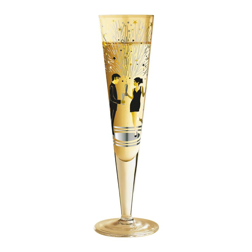 Champagnerglas mit Serviette Champus – 200 ml – Design Kathrin Stockebrand – 2012 – 1075003, Ritzenhoff günstig online kaufen