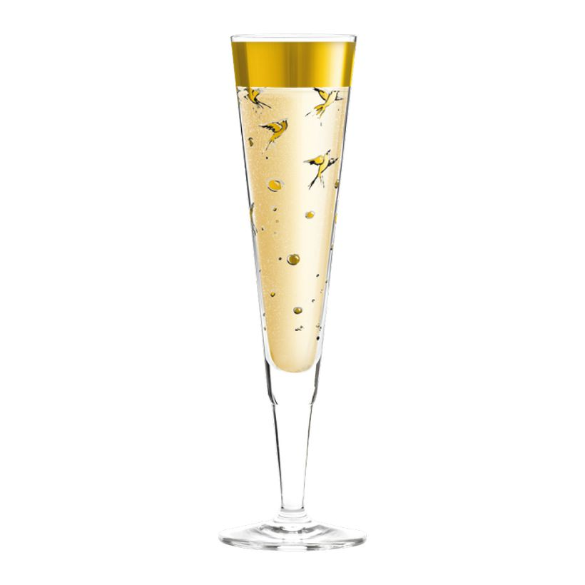 Champagnerglas mit Serviette Champus – 200 ml – Design Margarete Gockel – 2013 – 1070194, Ritzenhoff günstig bestellen