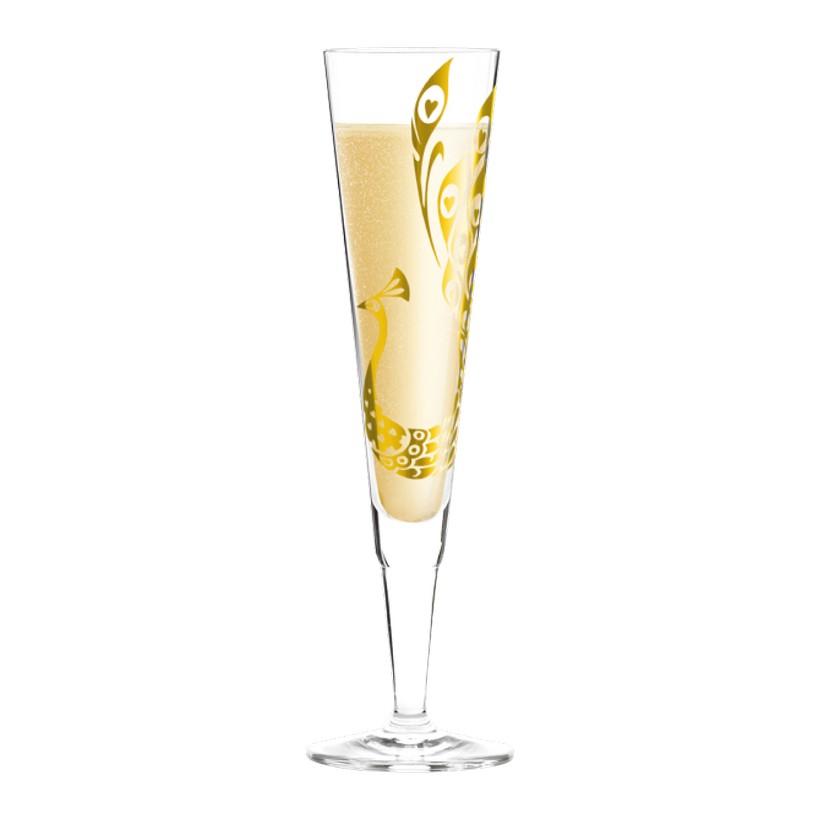Champagnerglas mit Serviette Champus – 200 ml – Design Nilesh Mistry – 2013 – 1070196, Ritzenhoff kaufen