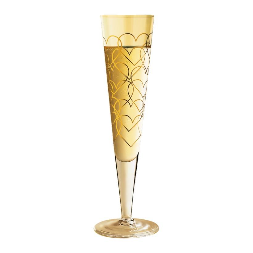 Champagnerglas mit Serviette Champus – 200 ml – Design Rurik Mahlberg – 2000 – 1070045, Ritzenhoff günstig