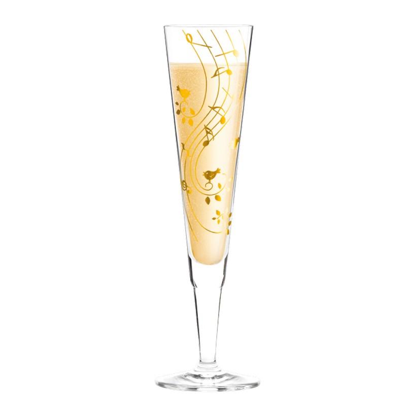 Champagnerglas mit Serviette Champus – 200 ml – Design Sibylle Mayer – 2013 – 1070202, Ritzenhoff jetzt kaufen