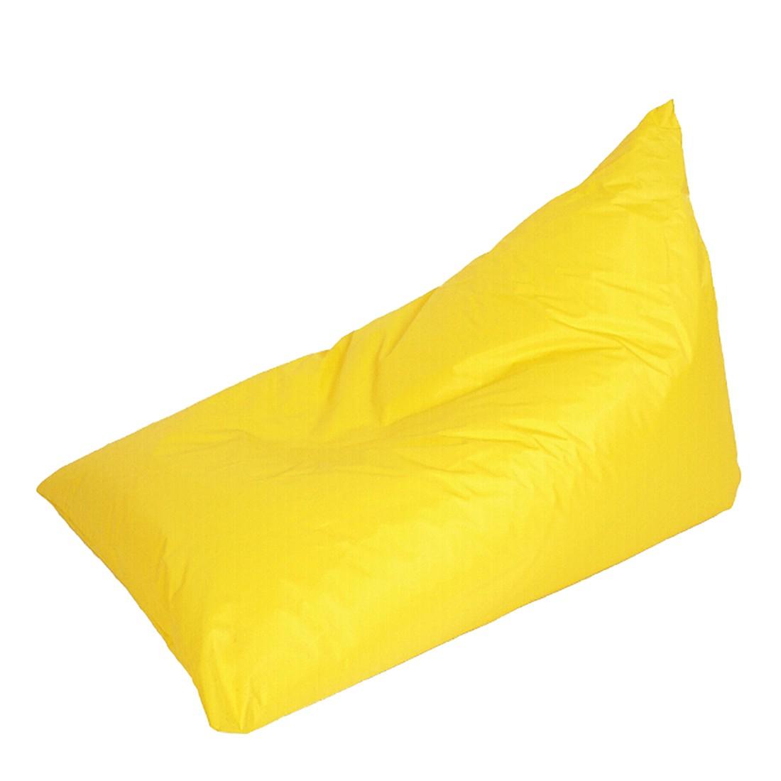 Chillkissen Nylon Gelb klein – 140 x 100 cm, KC-Handel kaufen