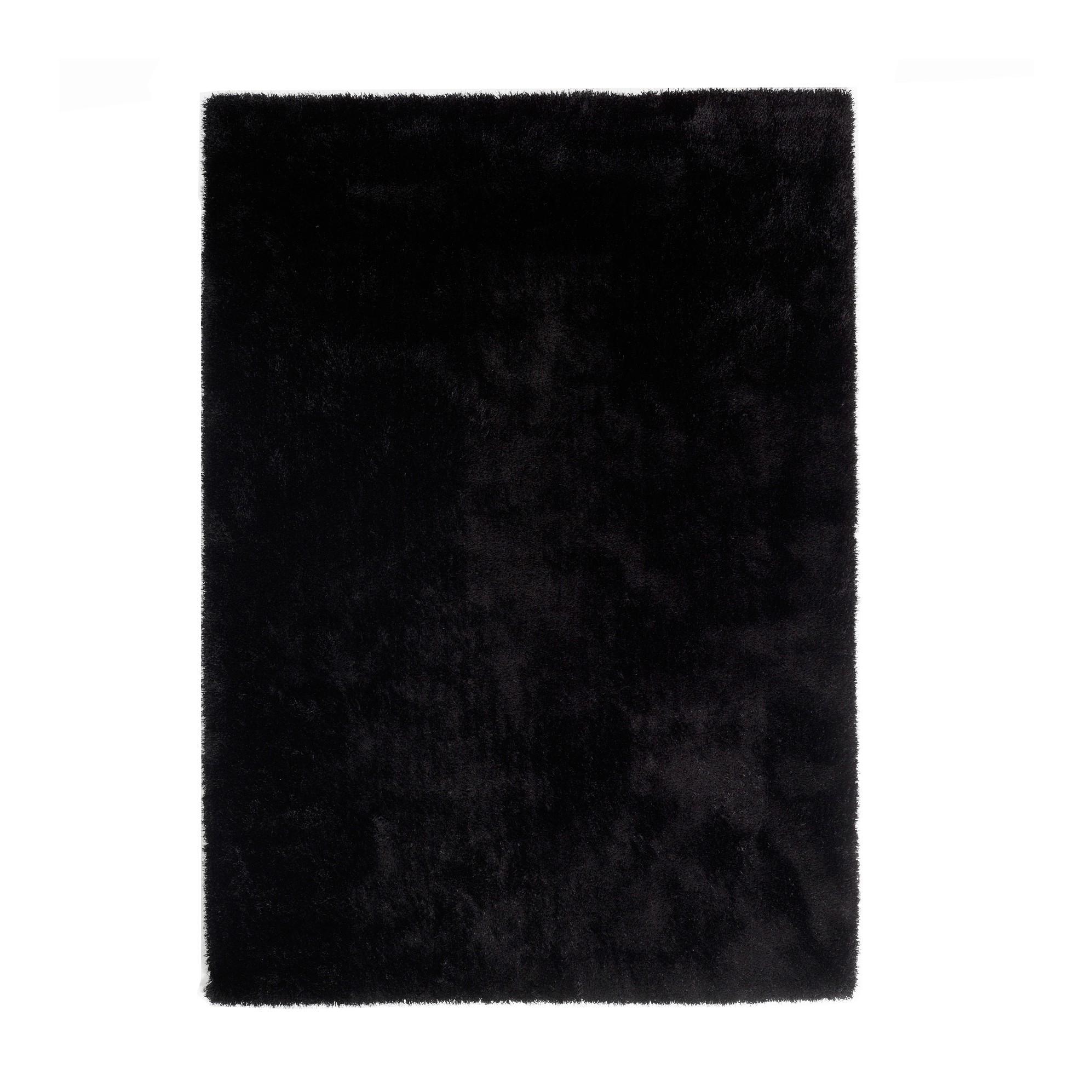 teppich black schwarz 70 x 140 cm colourcourage g nstig. Black Bedroom Furniture Sets. Home Design Ideas