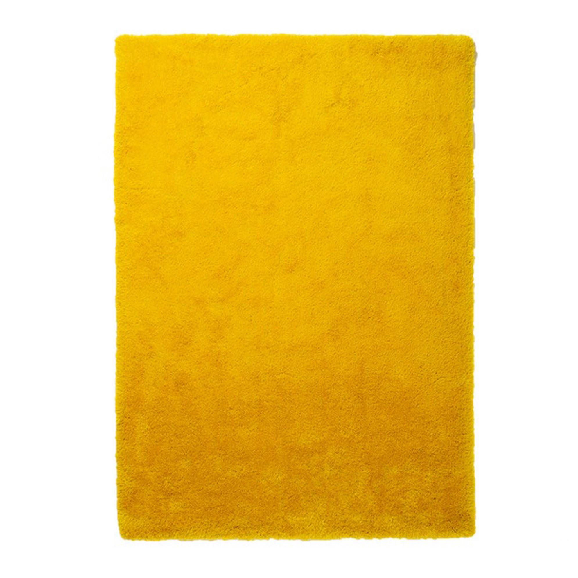 Teppich Curry – Gelb – 70 x 140 cm, Colourcourage günstig online kaufen