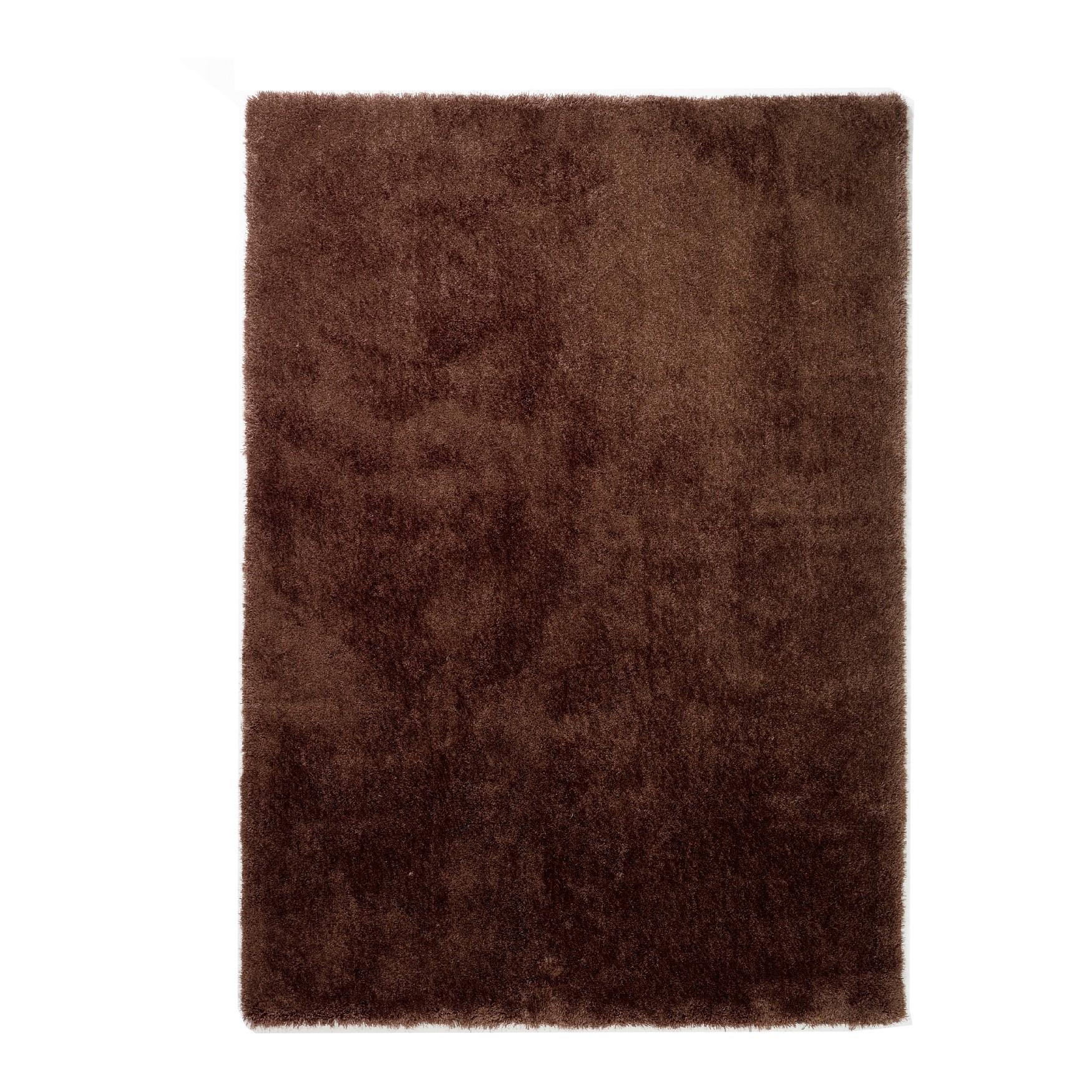 tapijten en vloerbedekking Tapijt Mud - bruin - 140x200cm ...