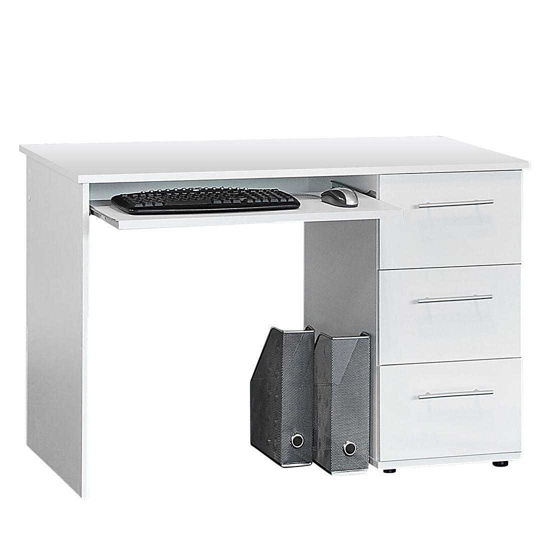 Computertisch Calvin – Weiß, home24office günstig