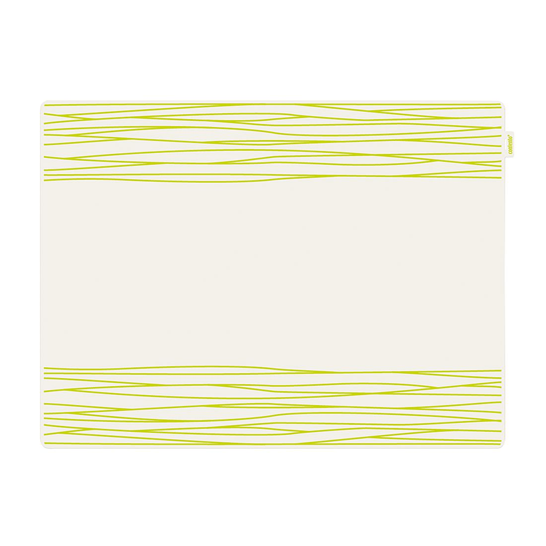 Tischset Jay (4er-Set) – Silikon Grün, Contento günstig kaufen