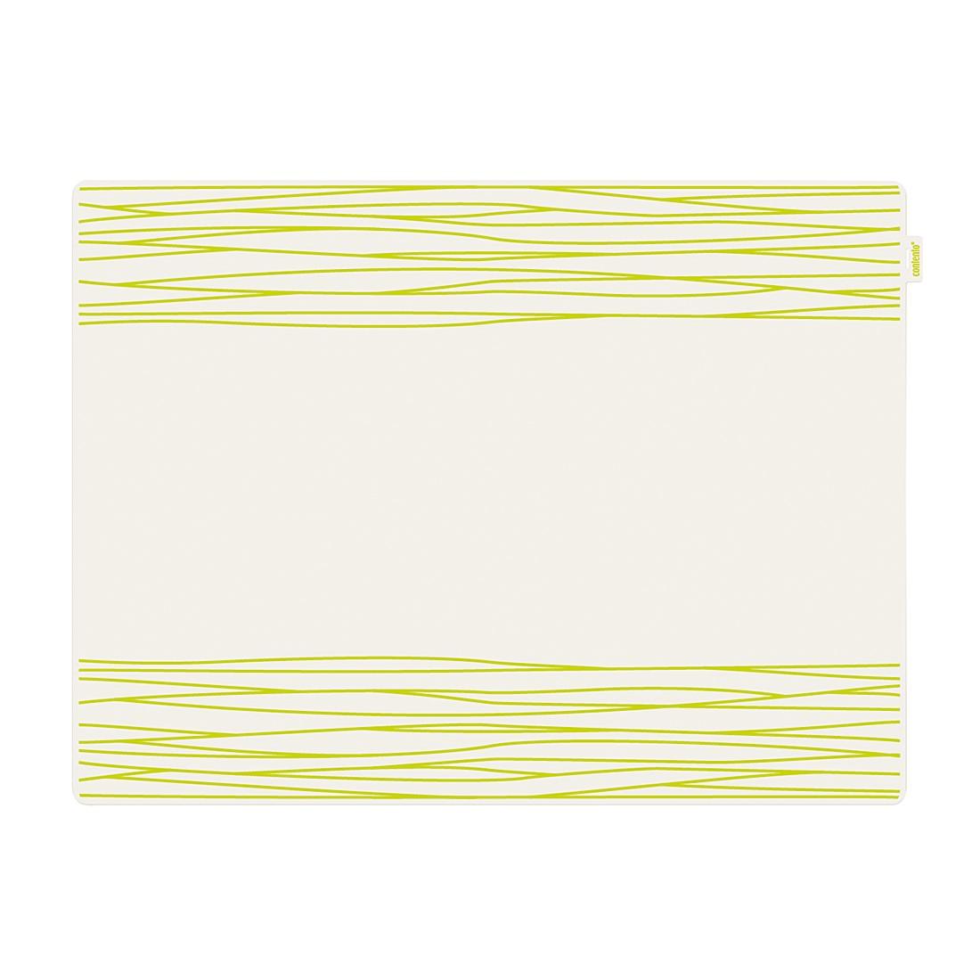 Tischset Jay (6er-Set) – Silikon Grün, Contento online kaufen