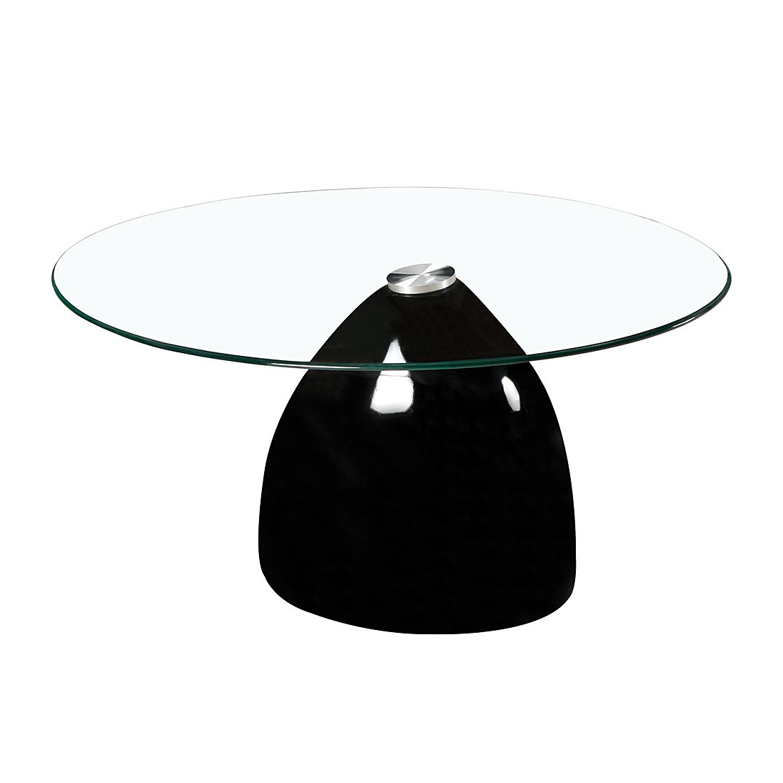 Couchtisch Algona – Glas/Hochglanz Schwarz, mooved jetzt bestellen