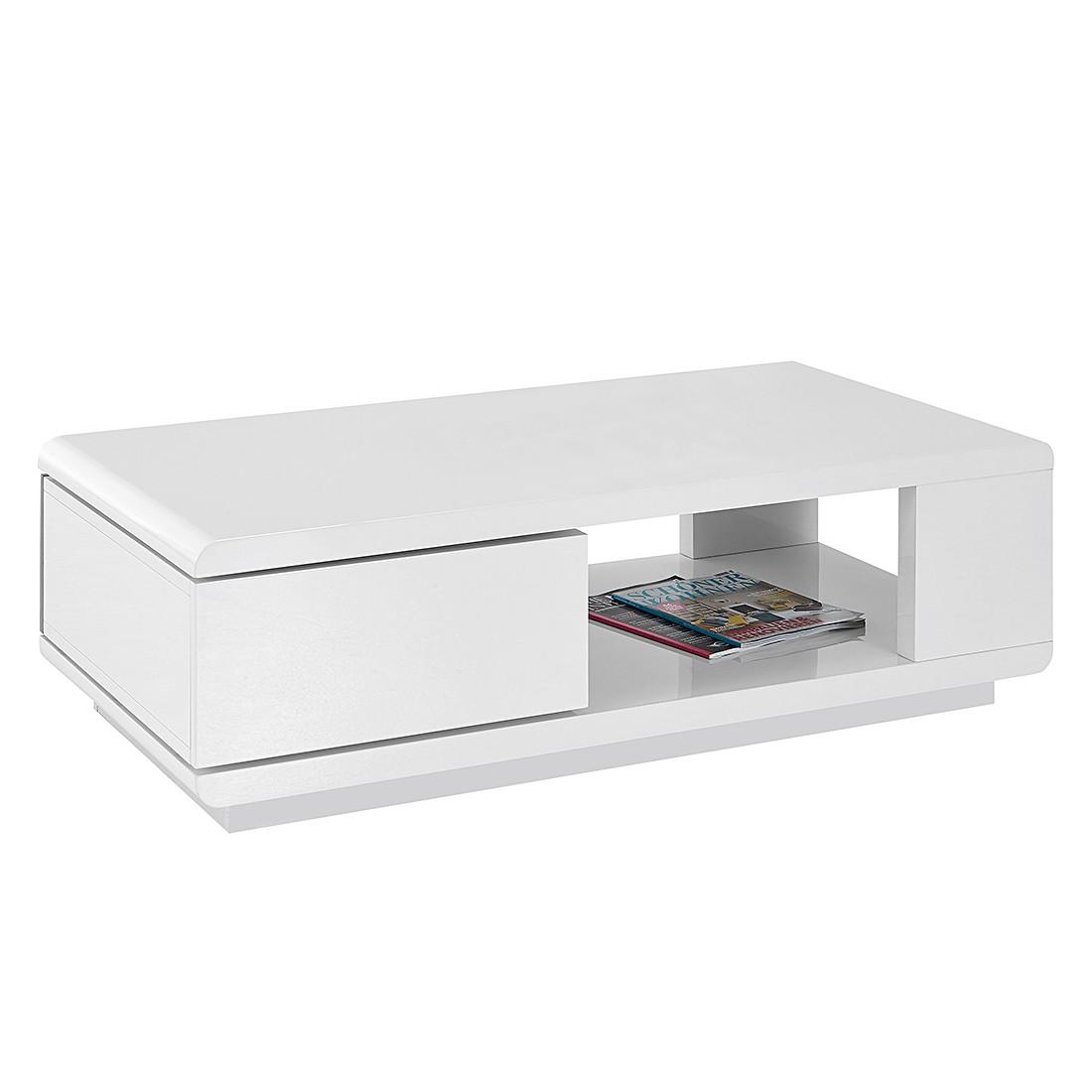 kleine meubels Salontafel Fergus - hoogglans wit roomscape voor 0.00 ...