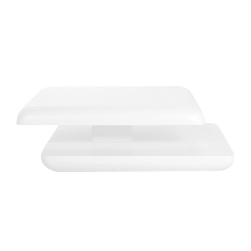 Couchtisch Flotation (verstellbar) – Hochglanz Weiß, roomscape günstig bestellen