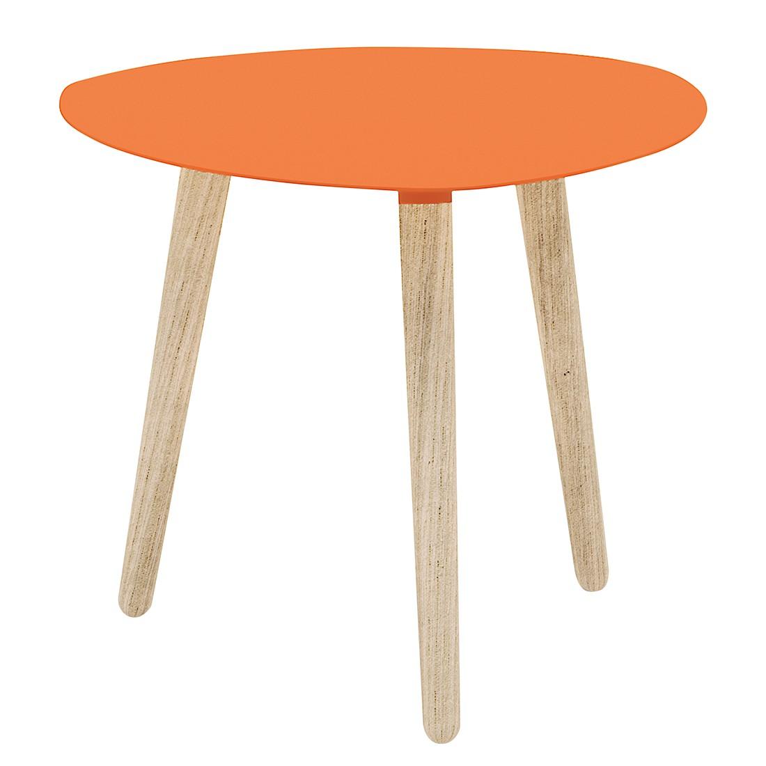 couchtisch nord petalo metall esche massiv orange. Black Bedroom Furniture Sets. Home Design Ideas