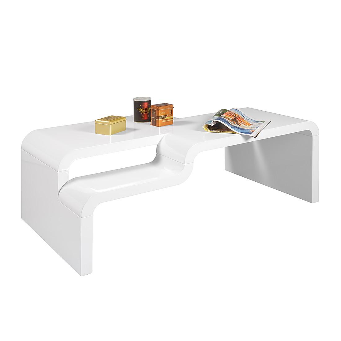 kleine meubels Salontafel Pedro - hoogglans wit HL Design voor 0.00 ...