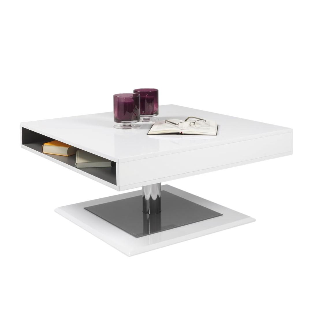 Couchtisch Pia – Hochglanz Weiß, HL Design günstig bestellen