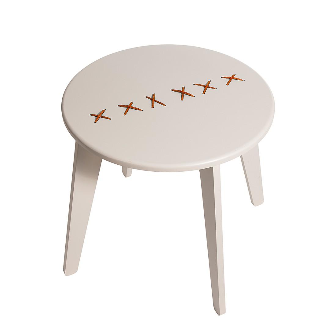 couchtisch stitched hellgrau orange metrocuadro design g nstig online kaufen. Black Bedroom Furniture Sets. Home Design Ideas