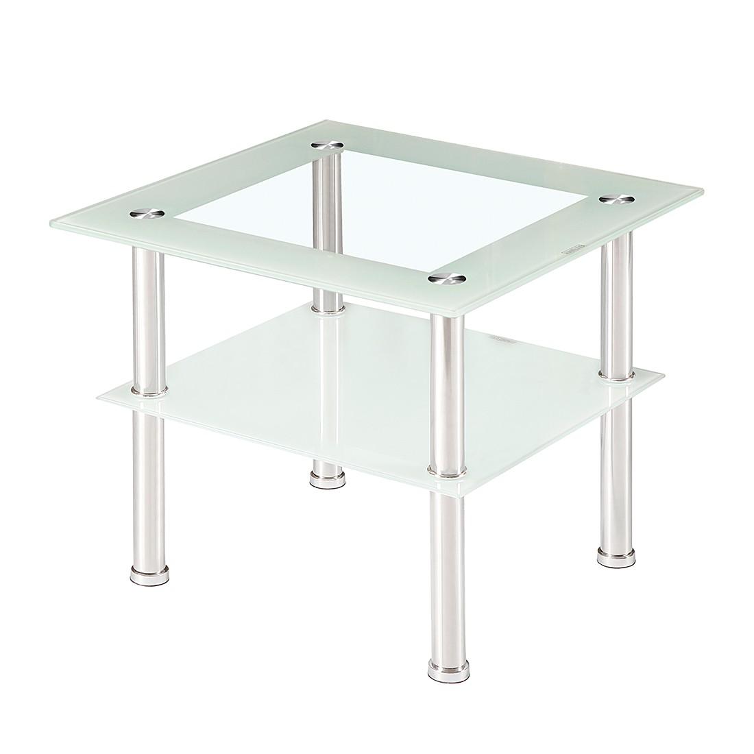 Couchtisch Toms II – Klarglas/Weißglas, mooved jetzt kaufen