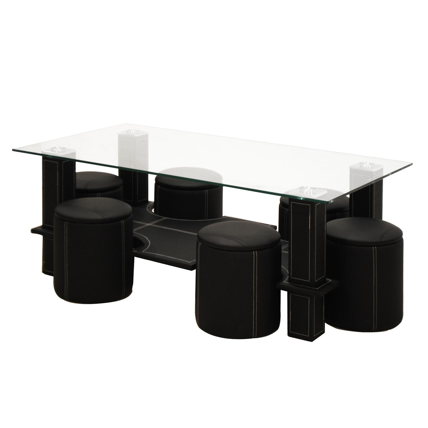 preisvergleich eu glas couchtisch schwarz. Black Bedroom Furniture Sets. Home Design Ideas