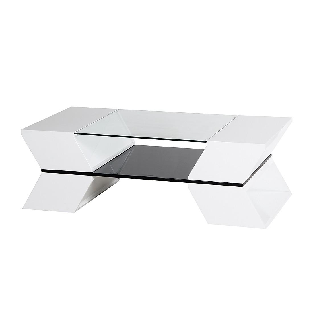 Salontafel lido hoogglans grafiet helder glas 120x70 for Aspect design