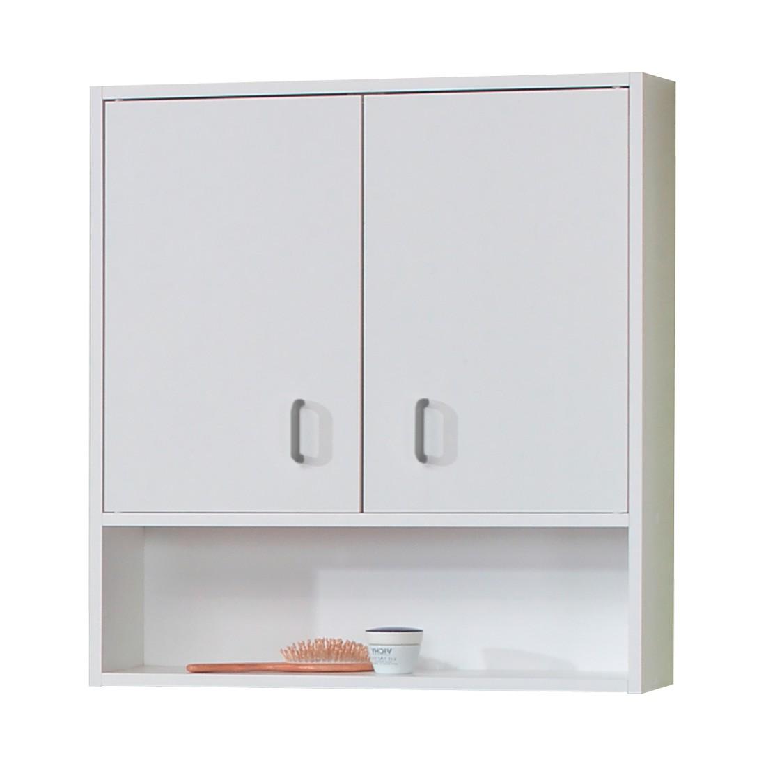Hängeschrank Cuneo - 2-türig - Weiß