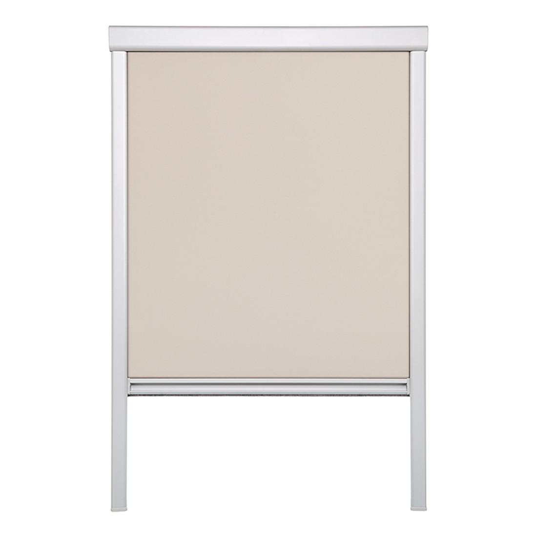 Dachfensterrollo, verdunkelnd – Polyester, Aluminium, Creme – (H x B): 94 x 49,3 cm, Wohn-Guide online kaufen