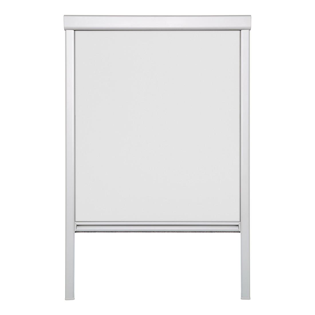 Dachfensterrollo, verdunkelnd – Polyester, Aluminium, Weiß – (H x B): 94 x 97,3 cm, Wohn-Guide günstig online kaufen