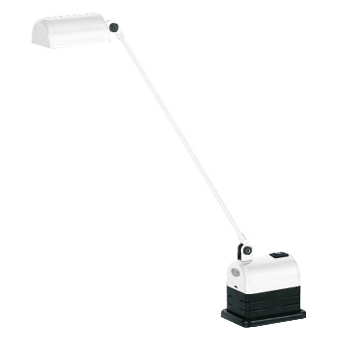 Tischleuchte Daphinette Classic ● Metall Weiß- Lumina