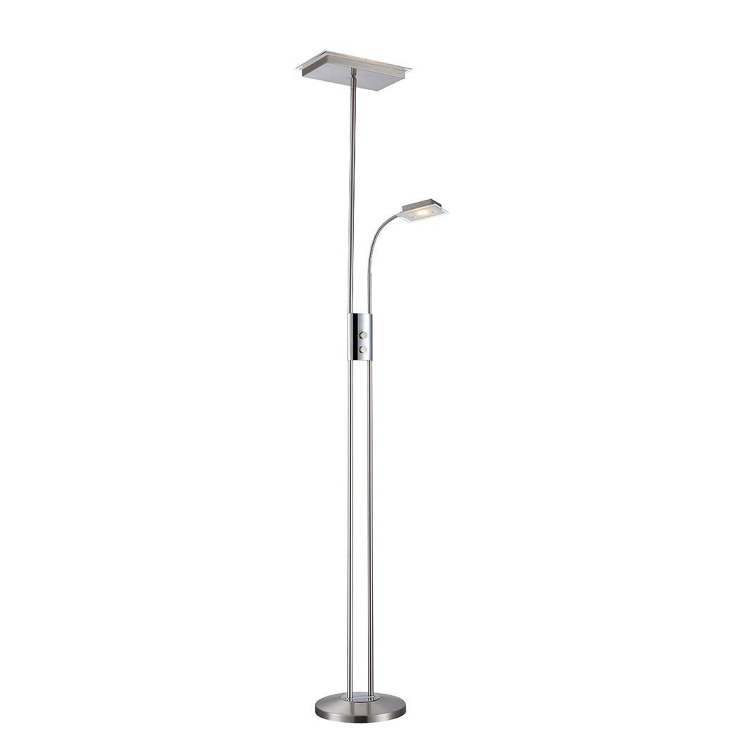 Deckenfluter ELOND – Metall – Silber – 1-flammig, Globo Lighting bestellen