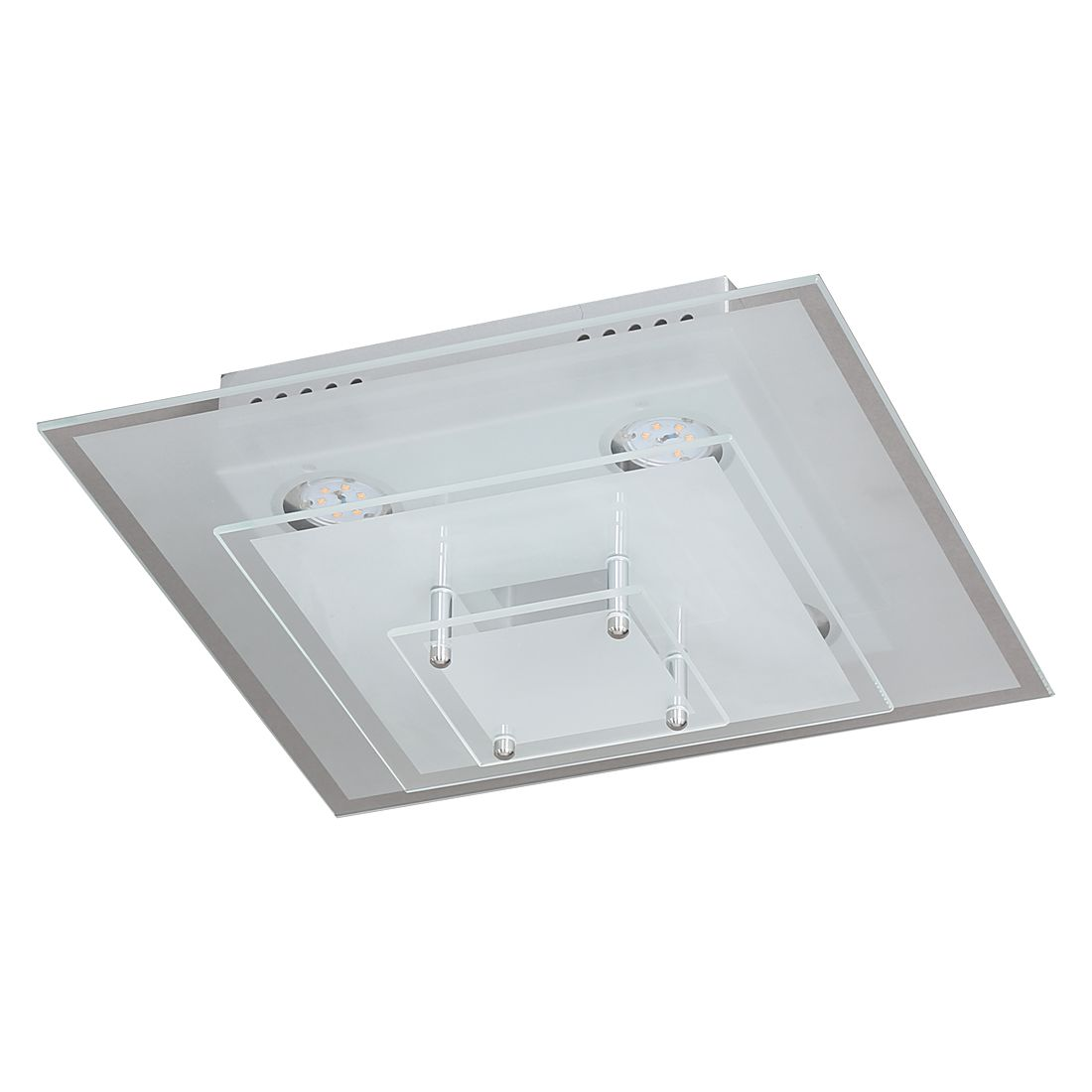 EEK A+, Deckenleuchte AIDEN – Metall/Glas – 4-flammig, Wofi bestellen