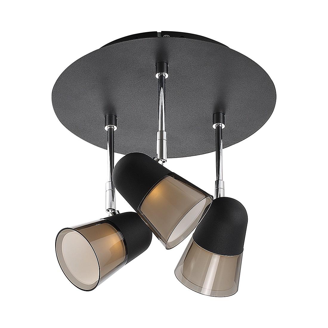 EEK A+, Deckenleuchte Arles – Metal/Kunststoff – Schwarz, Nordlux online bestellen