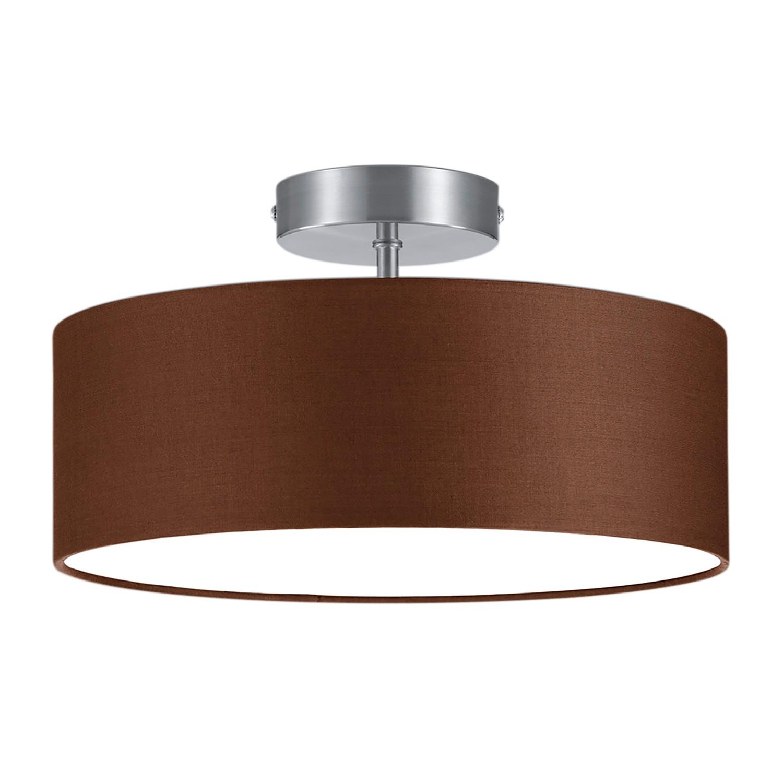 deckenleuchte shima ii braun wei deckenlampe decken beleuchtung lampe ebay. Black Bedroom Furniture Sets. Home Design Ideas