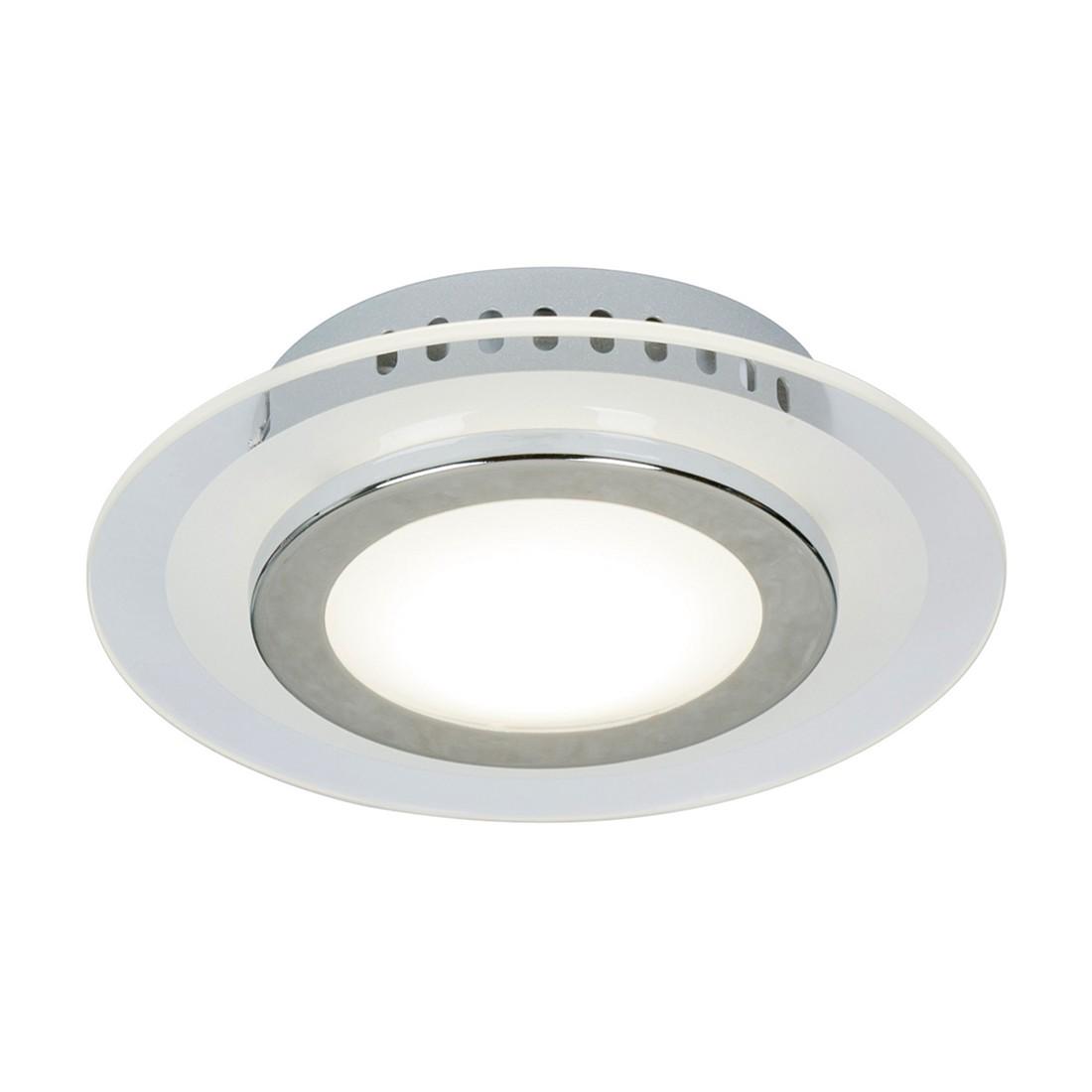 LED-Deckenleuchte 1-flammig ● Chrom glänzend Ø 20 cm- Steinhauer A+