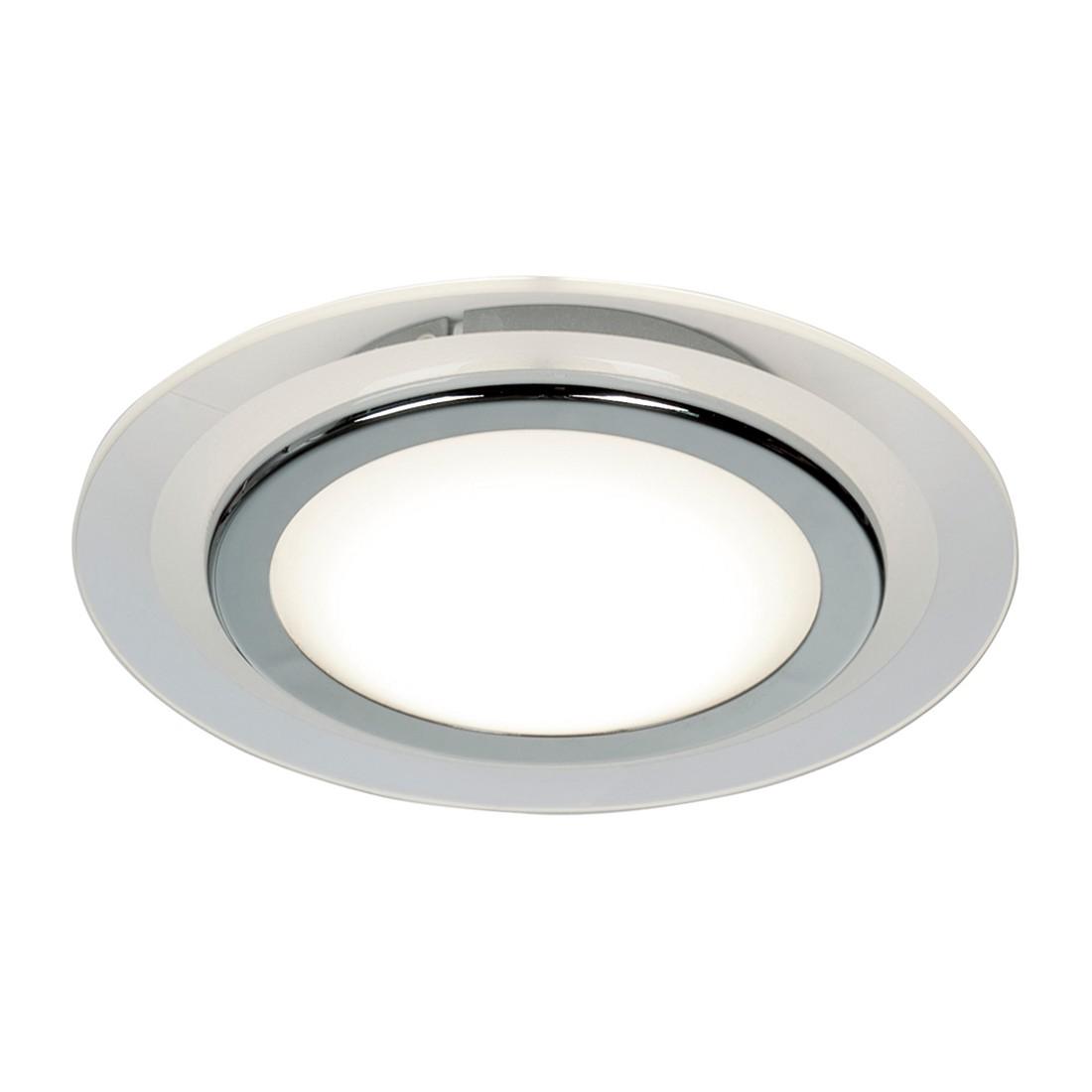 LED-Deckenleuchte 1-flammig ● Chrom glänzend Ø 25 cm- Steinhauer A+