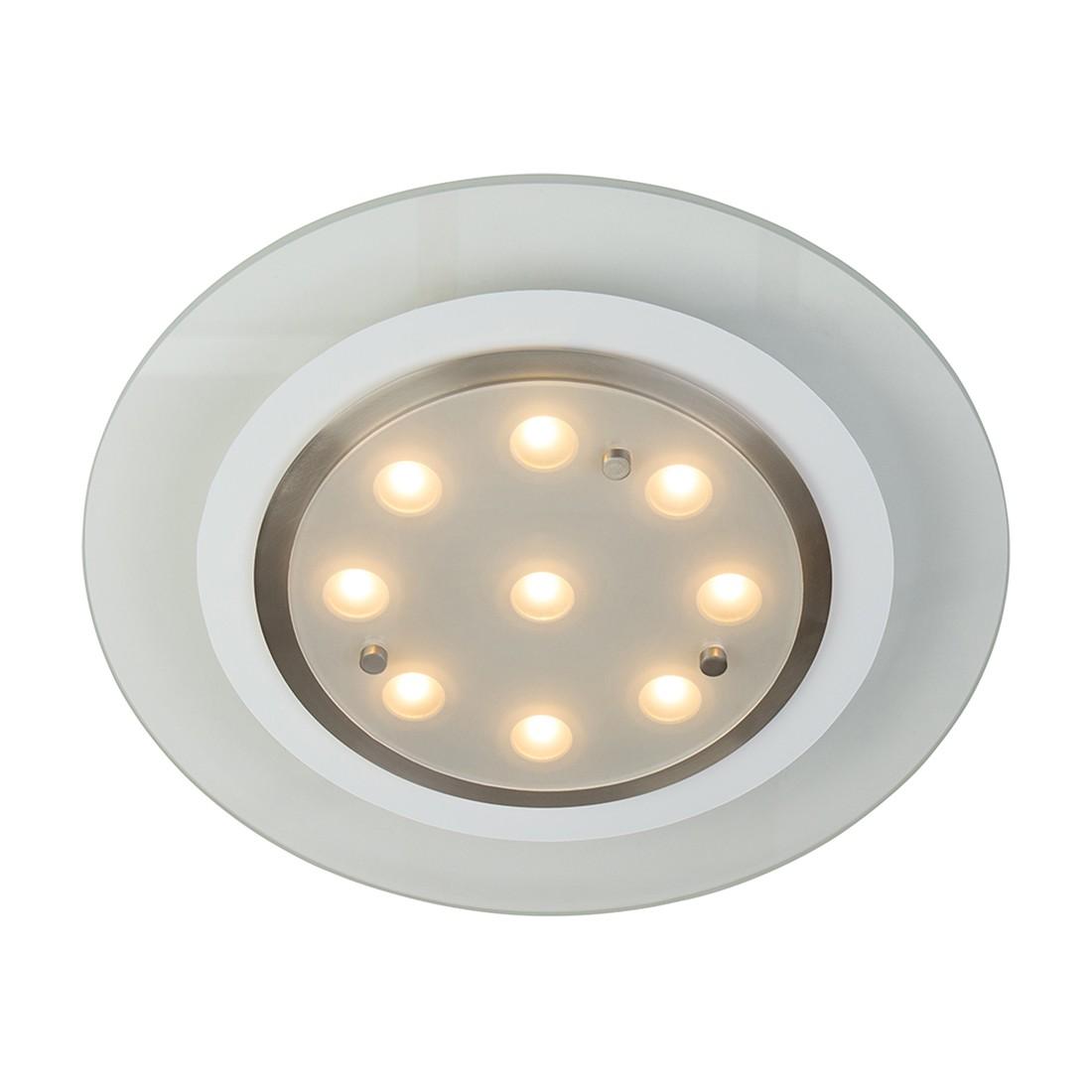 LED-Deckenleuchte 1-flammig ● Nickel matt- Steinhauer A+